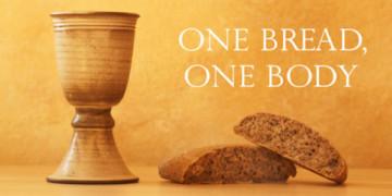 Communion one body, one bread