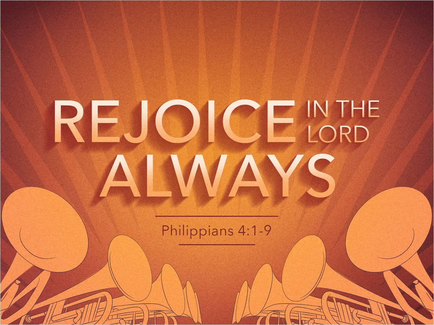 Philippians 4. 1-9